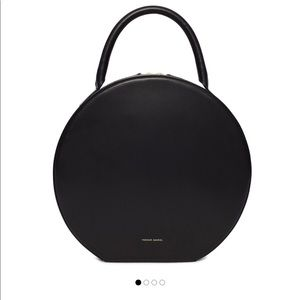 Mansur Gavriel Bags - Sleek black circle bag